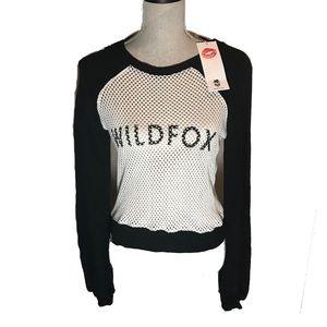 Wildfox Long Sleeve Sweater